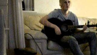 ryan walmsley playing guitar and singing :d