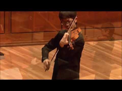 Rennosuke Fukuda -- Menuhin Competition  - Junior Finals - Part 1