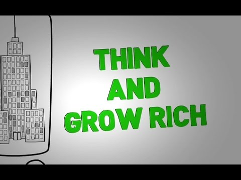 think and grow rich by napoleon hill animated book review youtube
