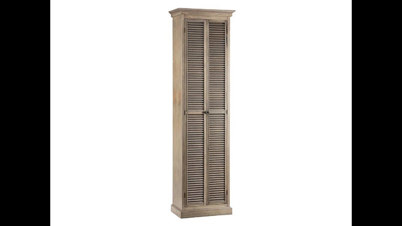 Tall Bathroom Storage Cabinets - YouTube