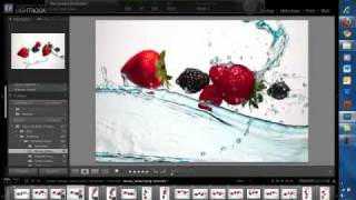 High Speed Photography  with Fruits