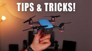 DJI SPARK - 5 TIPS & TRICKS !