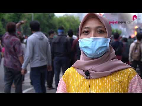 Reportase Demonstrasi UU Cipta Kerja 8 Oktober 2020