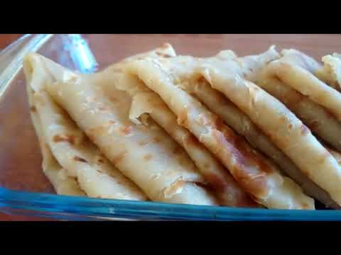 Soft yummy chapatis(kenyan food)