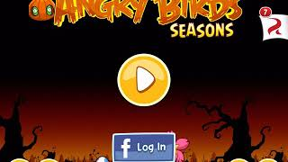 Angry Birds Seasons Trick Or Treat 3 Star Golden Egg