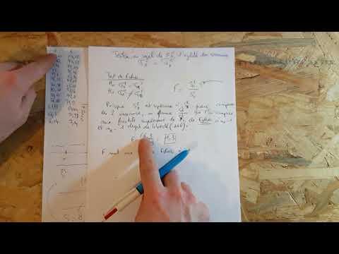 Test De Fisher Pour Les Variances - Égalité - Calculatrice  - 1/2