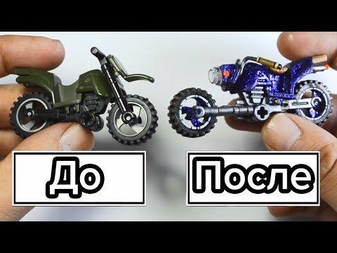 Как построить из лего мотоцикл