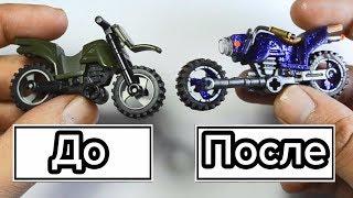 як зробити з лего мотоцикл