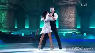 James Jordan and Alexandra Schauman skating in Dancing on Ice (Musicals Week) (20/1/19)