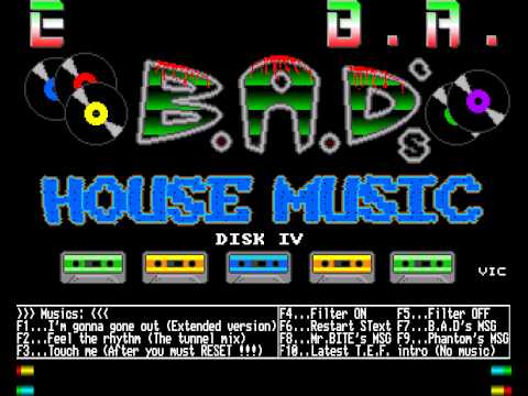 Amiga music disk digital noize 4 b a d 39 s house music for House music 1990 songs