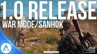 PUBG Xbox Update: 1.0 Release Date - War Mode, Sanhok, Custom games & More!
