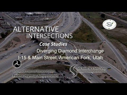 DDI Case Study – I-15 & Main Street in American Fork (Utah)