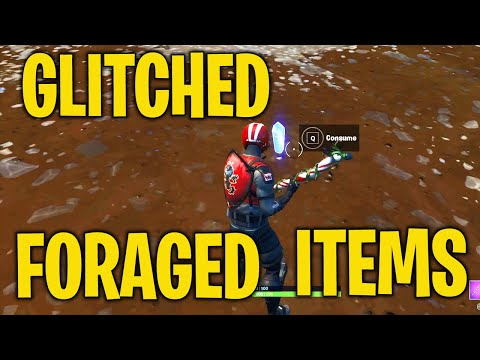 Consume Glitched Foraged Items All Locations-Fortnite (Junk Storm Challenge)