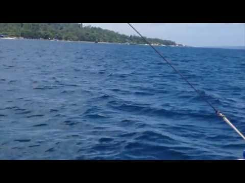 Boat Trip To Blue Jazz Resort, Samal Island, Davao City, Philippines
