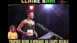 Claire Bahi à Bamako Au Quama Awards