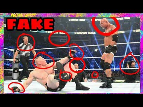 WWE IS FAKE     REAL PROOF (2018)    WWE...