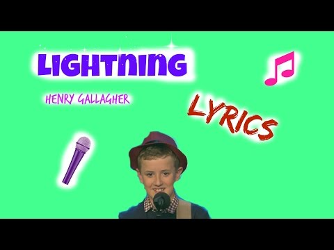 Lightning-Henry Gallagher Lyrics