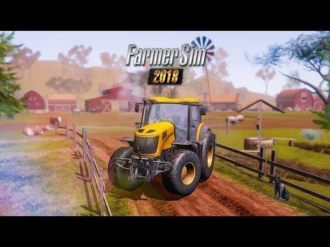 SAIU! Farmer Sim 2018 - Novo jogo de Fazenda para Celular (Android/iOS)