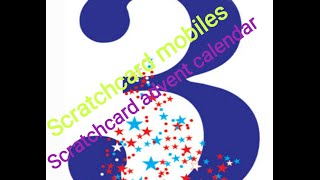 Sandwell mobiles Scratchcard christmas advent calendar day 3