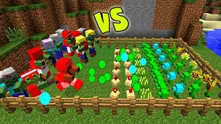 PLANTS VS. ZOMBIES NO MINECRAFT