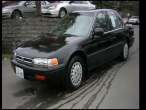 1992 Honda Accord Seattle WA