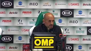 Conferência de Imprensa: Antevisão Sporting CP