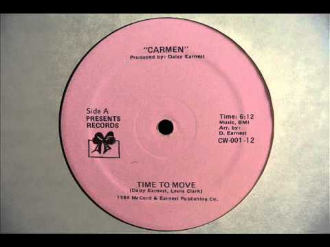 Carmen - Time To Move (1984] HQ Audio
