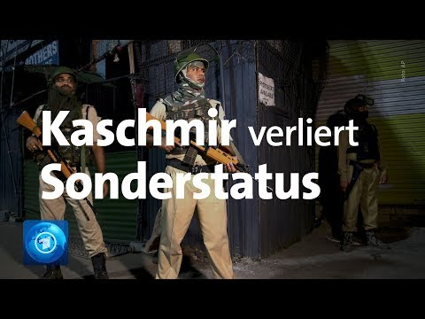 Indien will Kaschmir