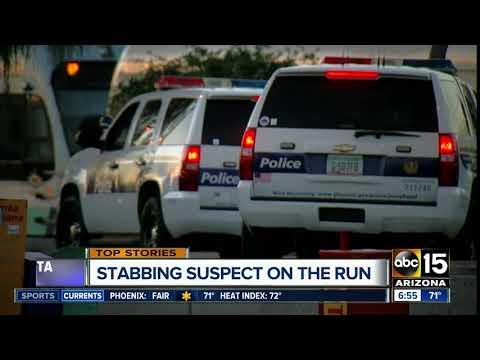 Man stabbed several times at Phoenix light rail platform