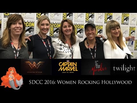 SDCC 2016: Women Rocking Hollywood Comic-Con Panel