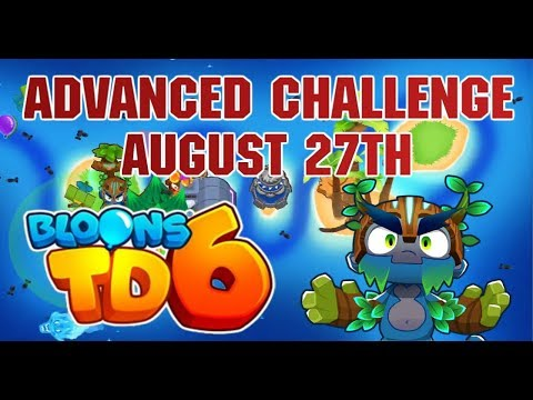 BTD6 - ADVANCED DAILY CHALLENGE - August 27th - The Hunt For Red October