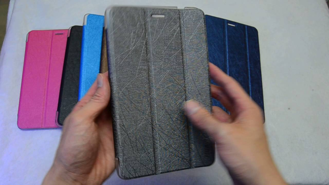 Original flip case for Huawei MediaPad M2 8.0 - YouTube