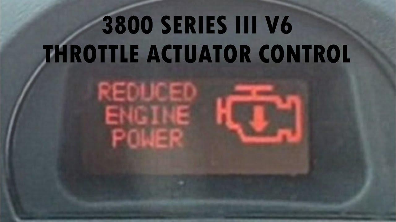 Throttle actuator control 3800 series iii v6 youtube throttle actuator control 3800 series iii v6 publicscrutiny Gallery