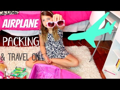 Tips and Ideas for Packing for an Airplane Trip | Shopping at Target Annie & Hope JazzyGirlStuff