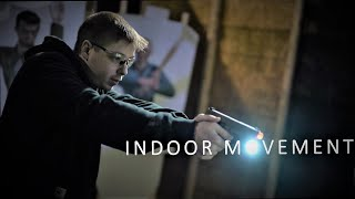 Indoor Shooting and Movement | T-rex Arms Chameleon Targets