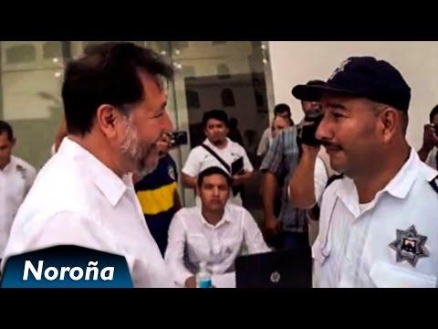 Noroña Visita al Corrupto Gobernador de Quintana Roo Beto Borge