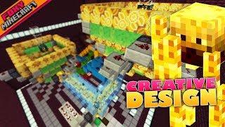 Minecraft | BLAZE SPAWNER DESIGN  | Bedrock Survival Realm [70]