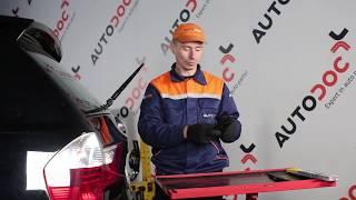 Cómo cambiar Escobillas del limpiaparabrisas trasero en BMW X3 E83 INSTRUCCIÓN | AUTODOC