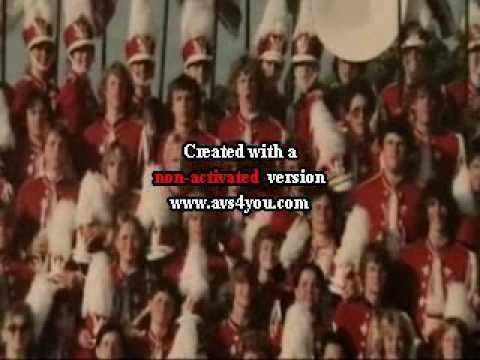 University High School Marching Band 1980 Spokane Wa - Moscow Idaho Competition October 1979