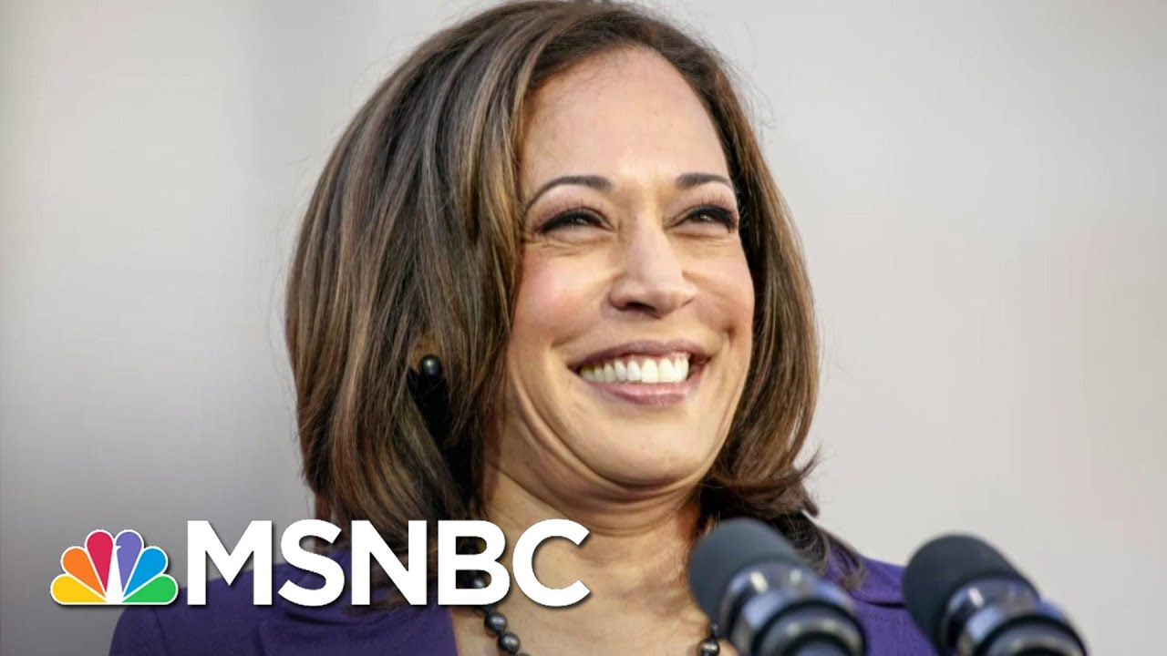 Biden Selects Sen. Kamala Harris As His Running Mate | MSNBC