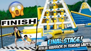 LEVEL TERAKHIR!!! NINJA WARRIOR DI ATAS AIR, FROST DIAMOND JUARA 1 DUNIA!!!