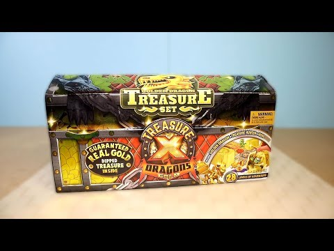 Сундук Сокровищ Treasure X НАШЕЛ Золото драконов
