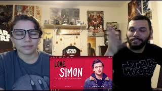 Fighting Nerdy Reaction: Love, Simon Official Trailer