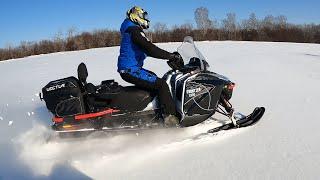 Обзор и отзыв на снегоход Frontier 1000. Первый день обкатки вместе с Тайга Варяг 550 V