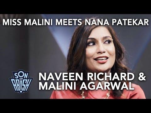 Miss Malini meets Nana Patekar   Son Of Abish