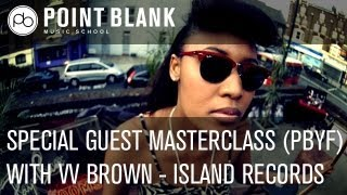 Live Masterclass with VV Brown (Island Records) - Nov 28th - PB Youth Foundation
