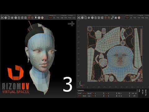 Descargar Video Rizom UV character practice p3