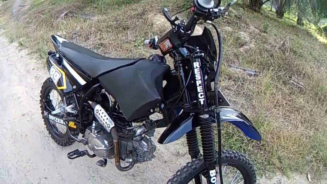 Review Smash Trail 2016 L Modifikasi Motorcoss L Suzuki
