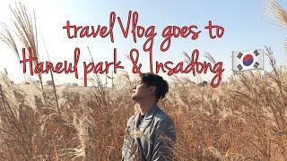travel Vlog goes to Seoul - Haneul park and Insadong