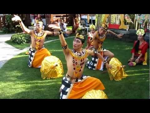 Bali Dance Art ,Making show at Floriade Venlo 2012, modern Bali